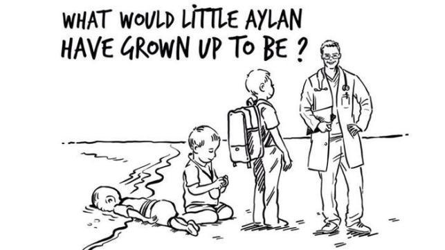 La vignetta commissionata da Rania di Giordania